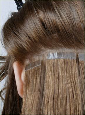 How are hair extensions put in hair flair extensions these extensions use thread to incorporate the extensions into the natural hair the most common type is a sew in weft where a weft section of hair pmusecretfo Gallery